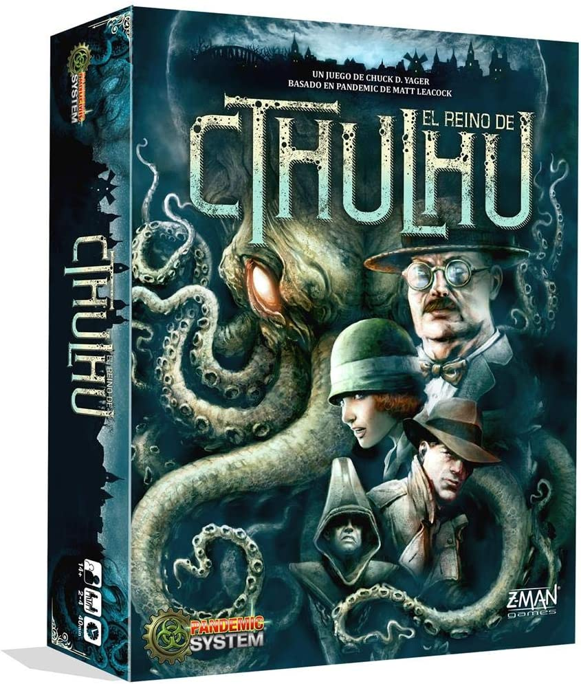 Z-Man Games- Pandemic El Reino de Cthulhu, Color (ZM7114ES ...