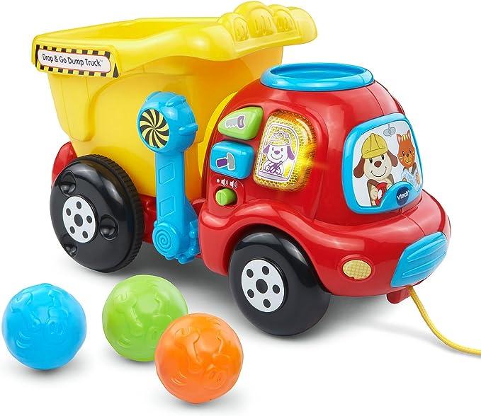 Amazon.com: VTech Drop & Go Dump Truck (Frustration Free Packaging): Toys & Games