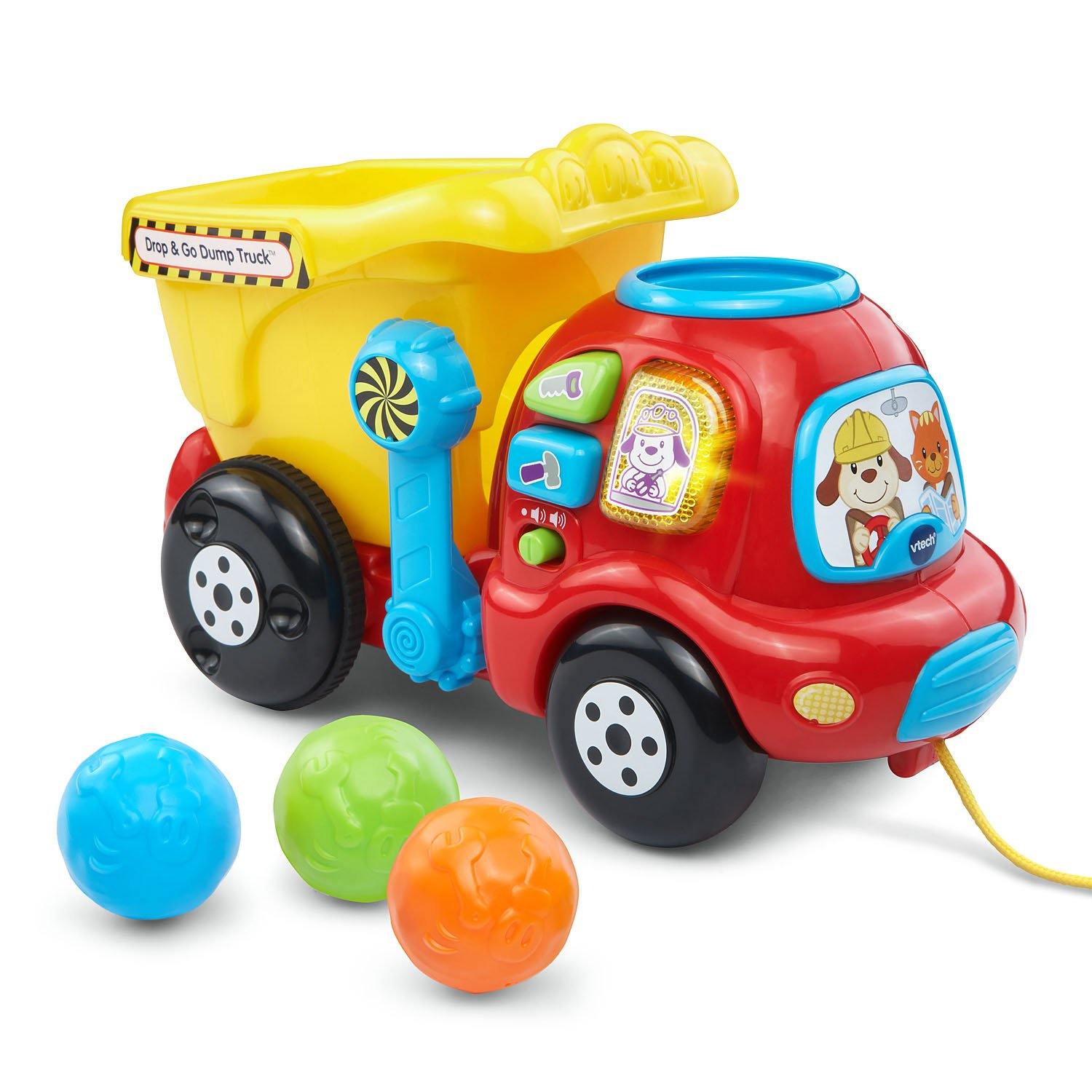 Amazon VTech Drop & Go Dump Truck Frustration Free Packaging