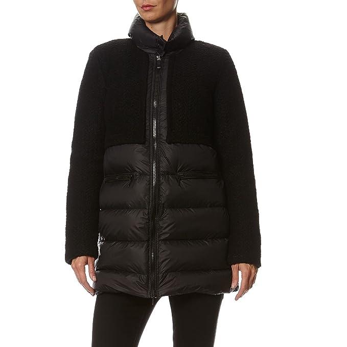 Cappotto Nero it 44 Amazon Abbigliamento Donna Geox W5426d Tg 6td6pw