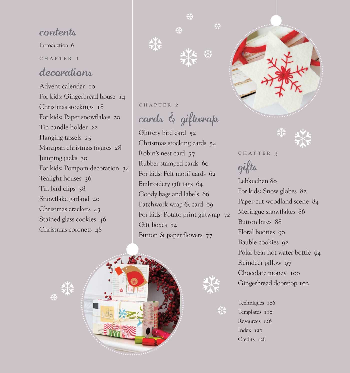 Handmade Christmas: Over 35 step-by-step projects and inspirational ...