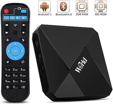 Caja de receptor de 4 K IPTV, caja mundial IPTV 2 G RAM 16 GB ROM