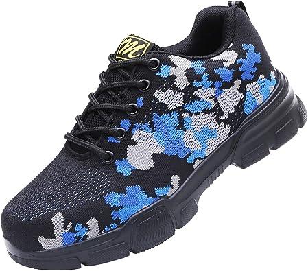 Mitudidi Steel Toe Shoes Men Safety