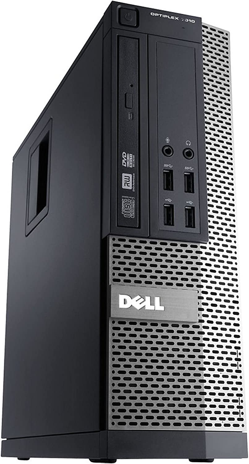 Dell Optiplex 9010 SFF High Performance Business Desktop i5 i5-3470 Quad-Core 8gb RAM 500gb Hard Drive DVD+/-RW Windows 7 Professional - WiFi (Certified Refurbished)