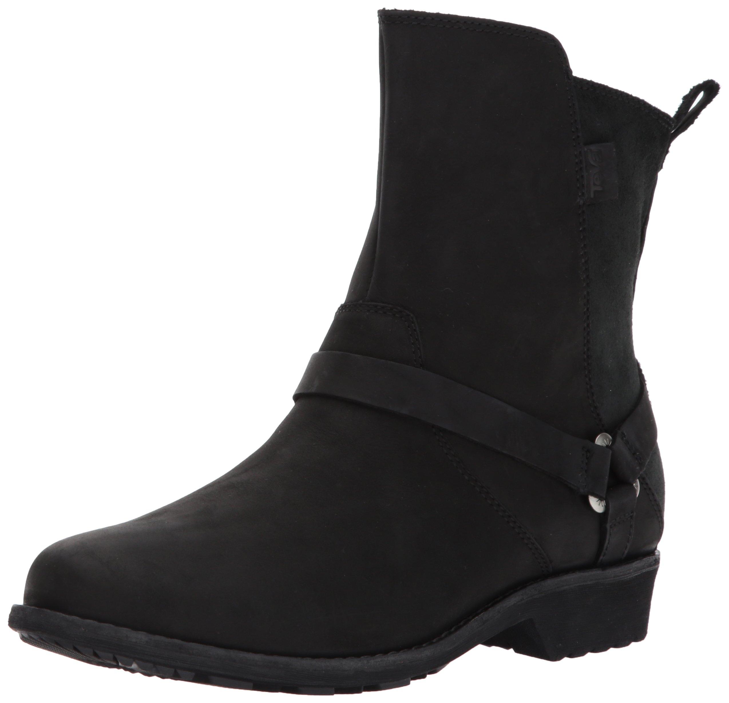 Teva Women's W DE LA Vina Dos Boot, Black, 9.5 M US