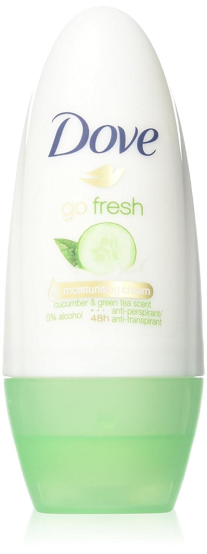 Dove Go Fresh Cucumber Roll-On Anti-Perspirant Deodorant 50ml (PACK OF 6)