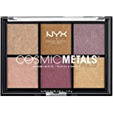 NYX PROFESSIONAL MAKEUP Cosmic Metals Shadow Palette, Pink (CMSP01)