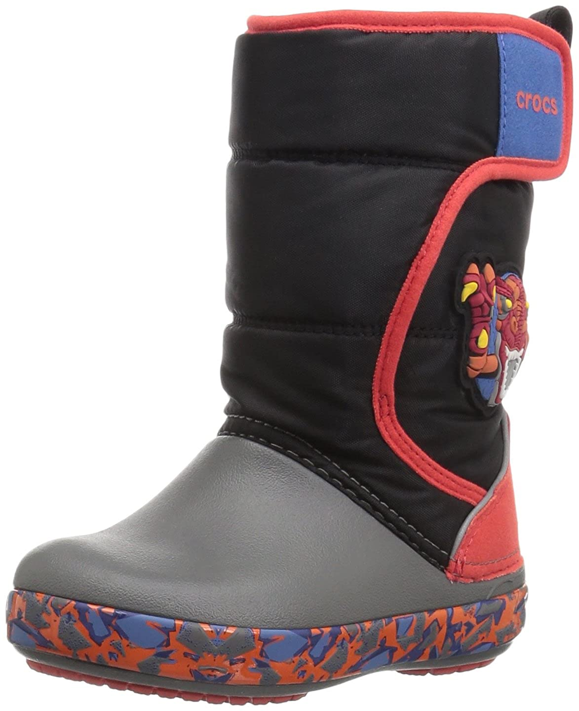 Crocs Kids' Lodgepoint Lights Roborex Snow Boot