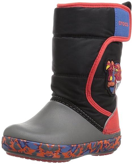 a4ca997ce Crocs Kid s CrocsLodgePt Lights RoboRex Snow Boots  Amazon.ca  Shoes ...