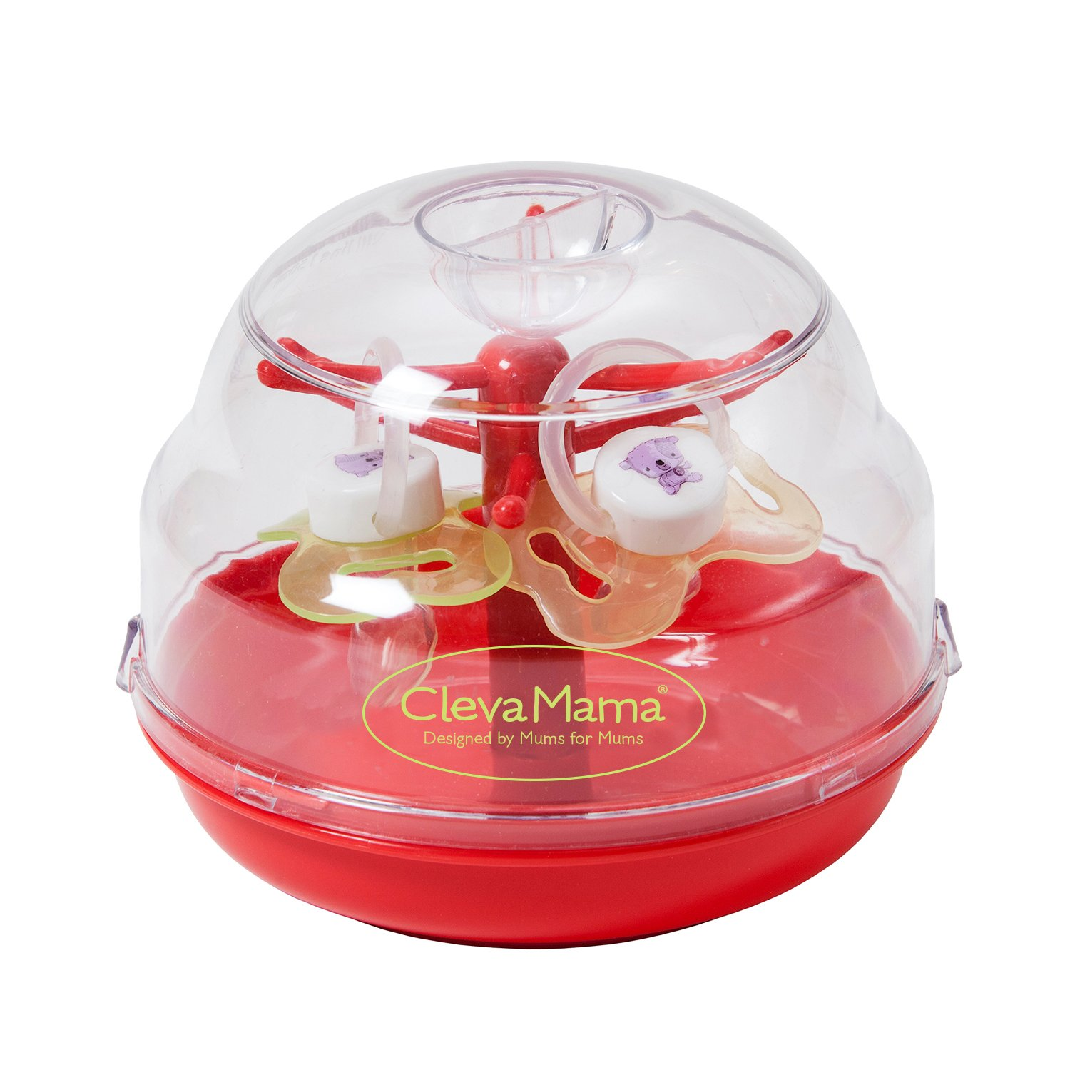 Clevamama Microwave Soother Pacifier Steriliser (BPA-free) CM7002