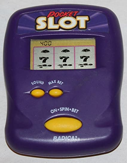 Pocket Slot Machine Electronic Handheld Game