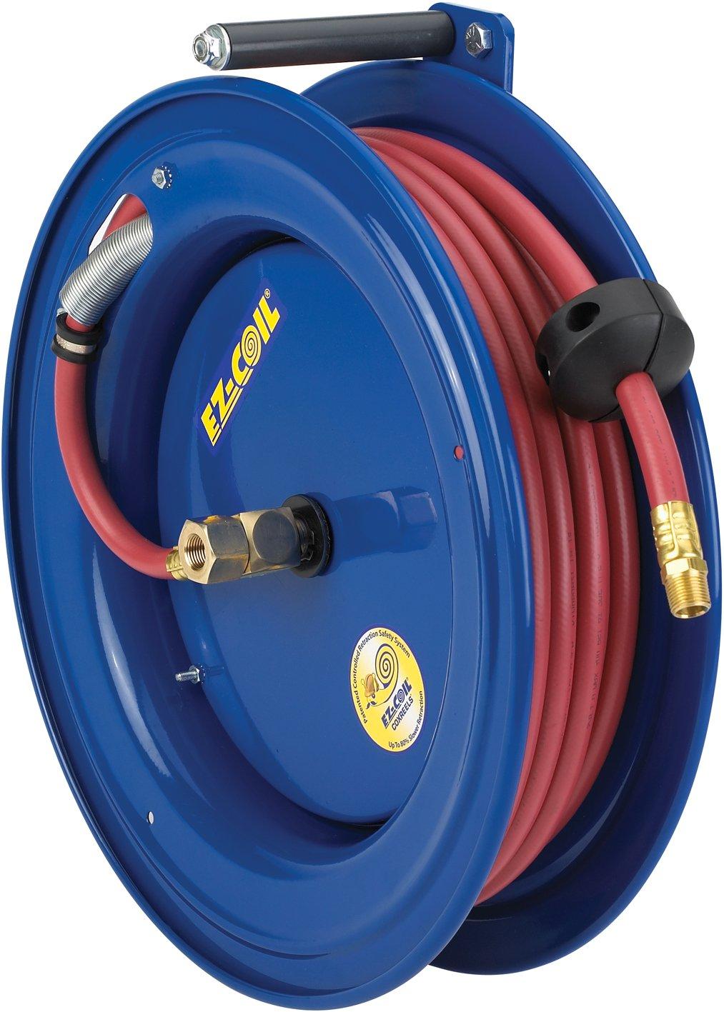 Coxreels EZ-SR17L-L430 Safety System Side Mount Spring Driven Hose Reel 1//2