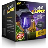 Solar-Powered Outdoor Bug Zapper / Mosquito Killer - Hang or Stick in the Ground - Dual Modes - Bug Zapper & Garden Light Function