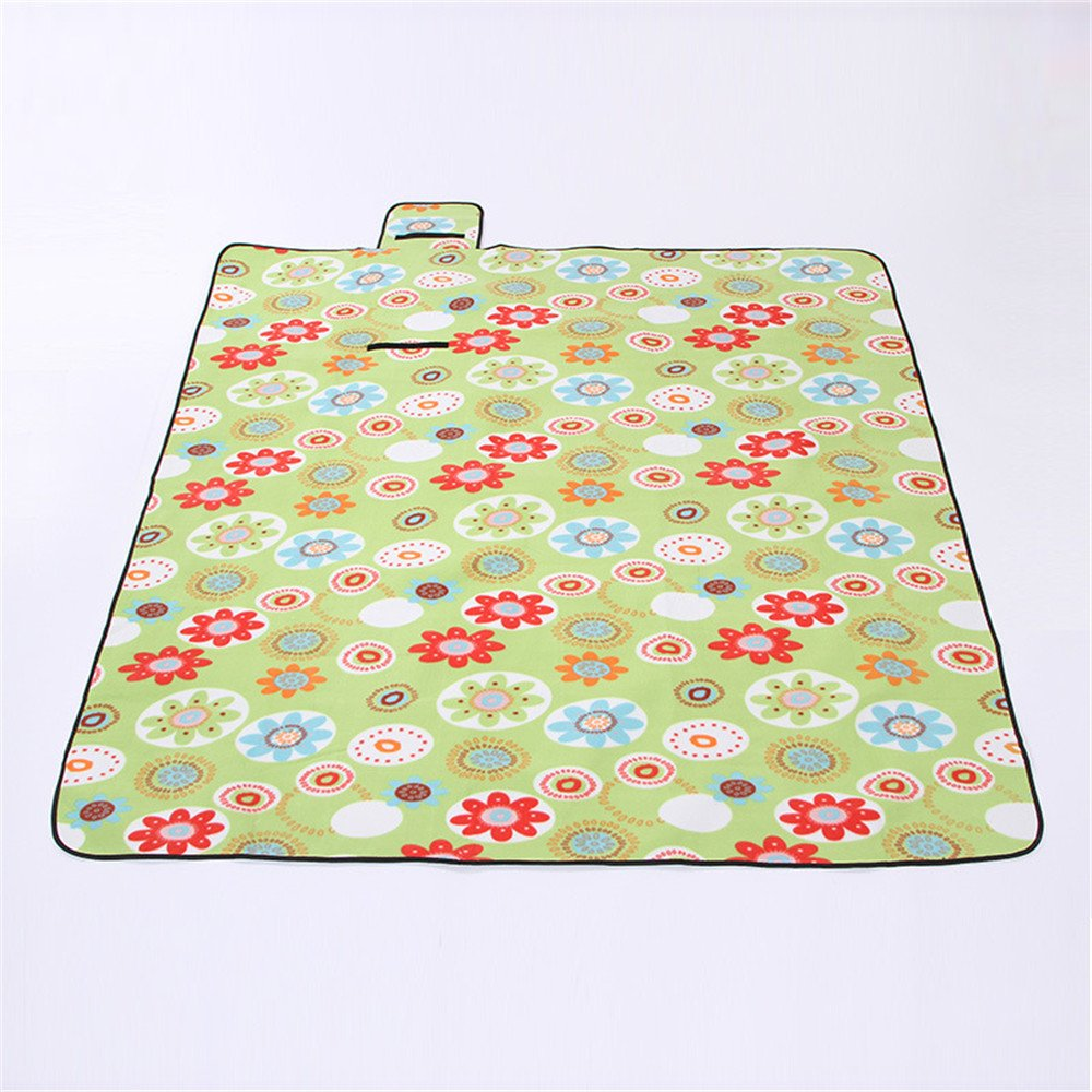 Waterproof Extra Large Foldable Picnic Blanket Mat for Camping, Beach, Outdoor, Park, Grass, Travel, Festivals, Sporting Events, 79x79inches