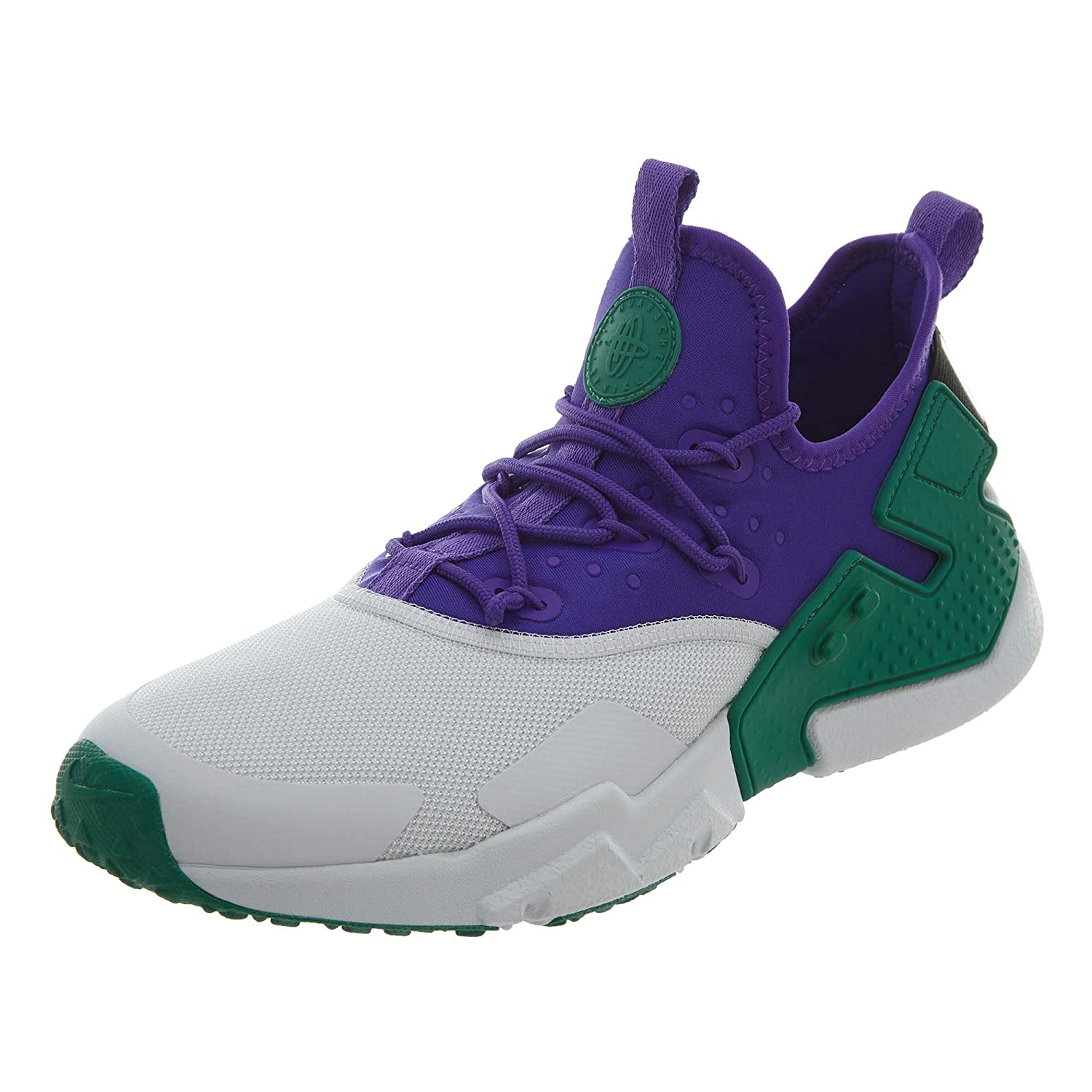 Nike Men's Air Huarache Drift B07GDVNMYJ Fierce Purple/White-black-green Noise 10.5 M US