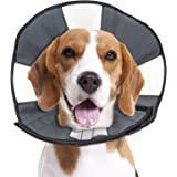 ZenPet Pet Recovery Cone E-Collar for Dogs and Cats - Always Use with Your Pet's Everyday Collar - Comfortable Soft Collar is