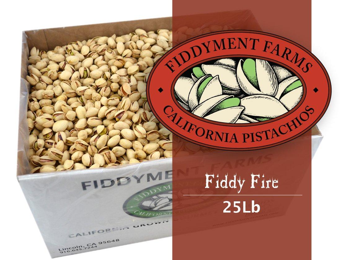 Fiddyment Farms 25 Lbs Fiddy Fire In-shell Pistachios