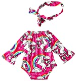 Leapparel New Born Baby Funny Off-Shoulder Jumpsuit