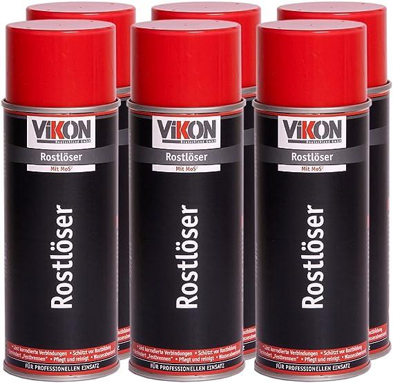 6 Dosen Vikon Rostlöser Mos2 Spray 400 Ml Baumarkt