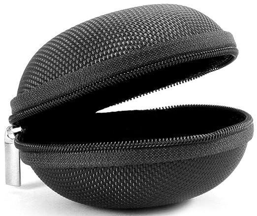 LUCKLYSTAR Funda Auriculares Mini Bolsa Almacenamiento Rígida, Coleccion Cremallera Zipper Cubierta Bag Caja Estuche para Apple AirPods,iPod ...