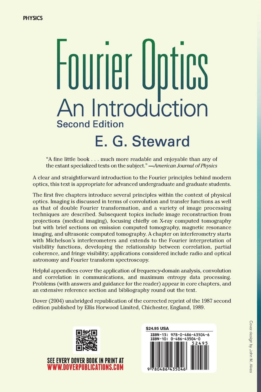 Fourier optics an introduction 2nd edition e g steward fourier optics an introduction 2nd edition e g steward 9780486435046 amazon books fandeluxe Image collections