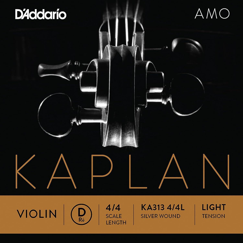 D'Addario Kaplan Amo Violin E String, 4/4 Scale, Medium Tension D' Addario KA311 4/4M