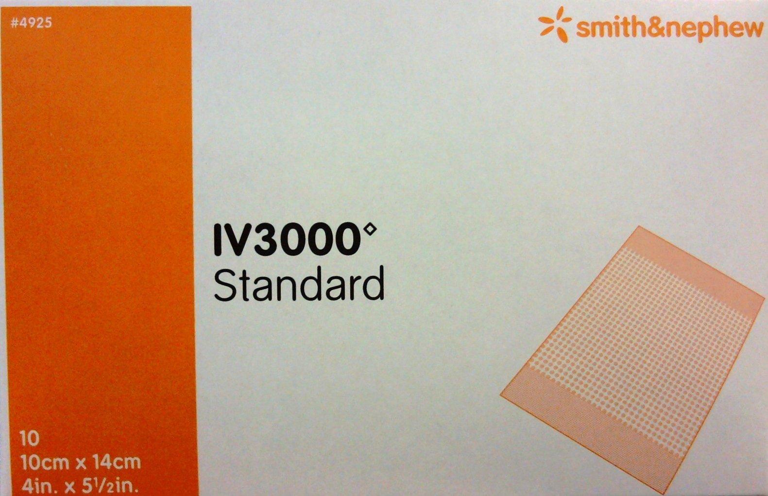 OpSite IV 3000 Dressing 4'' x 5 1/2'' Box: 10