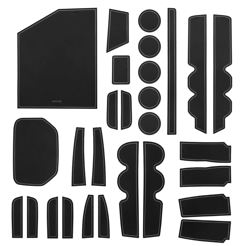 Pro Braking PBK4740-WHT-BLA Front//Rear Braided Brake Line White Hose /& Stainless Black Banjos