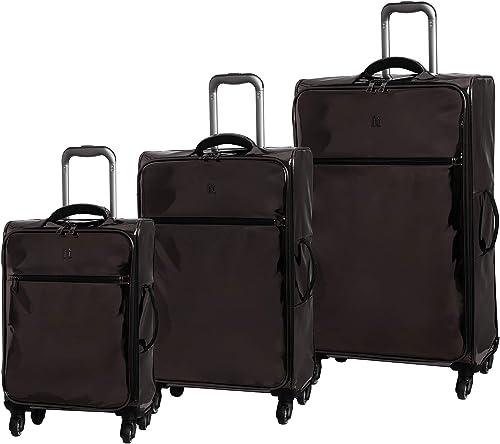 it luggage Shimmer 3 Piece Softside Set, Metallic Gun