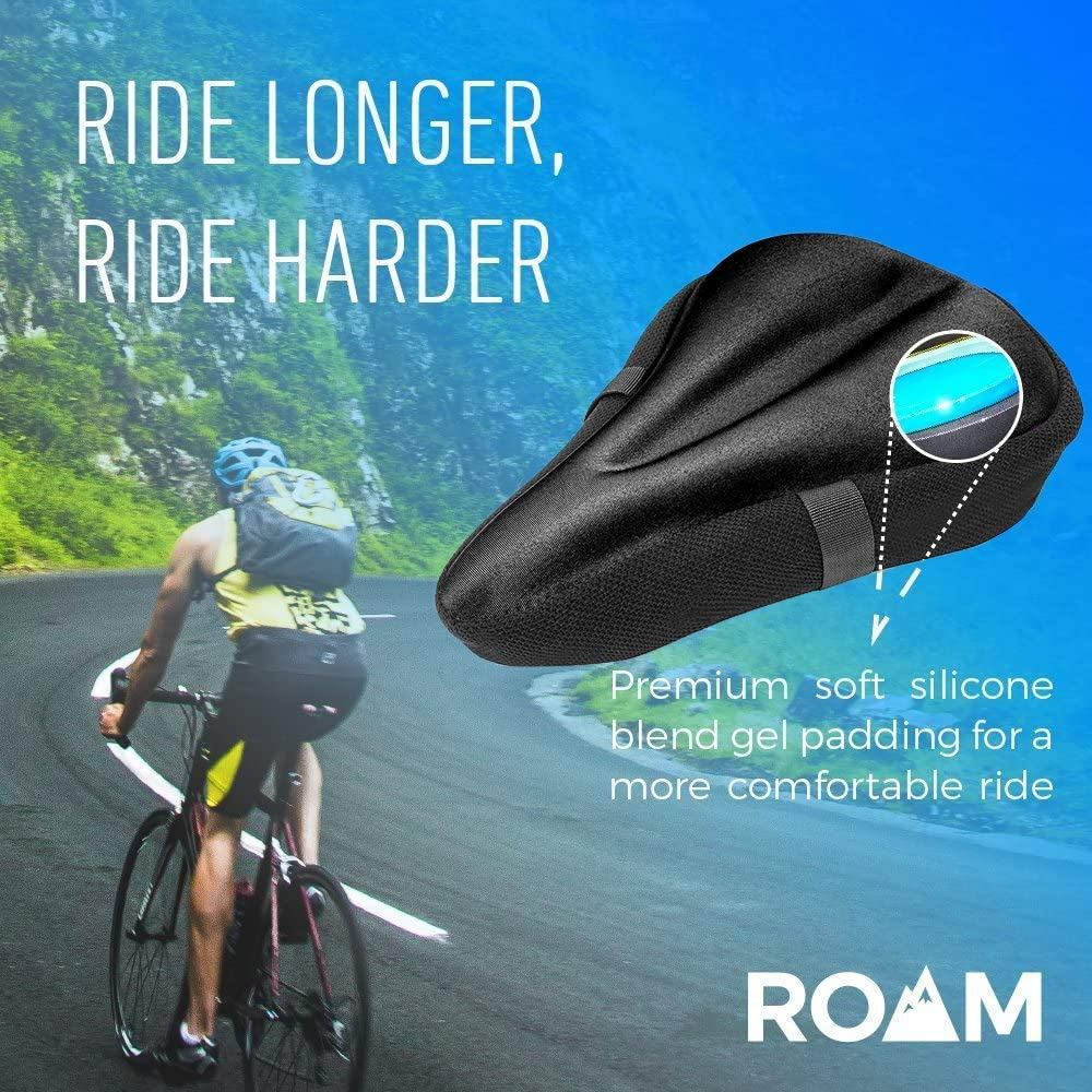 Bicycle Bike Cycle Saddle Road Mountain Sports Soft Cushion Pad Seat Gel N3U2