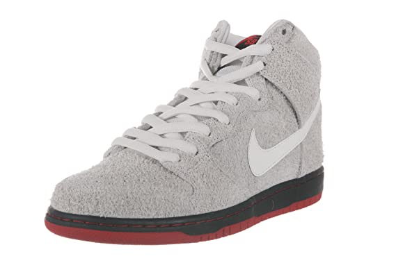 : NIKE SB Mens Sneakers Dunk High TRD QS 881758 110: Clothing