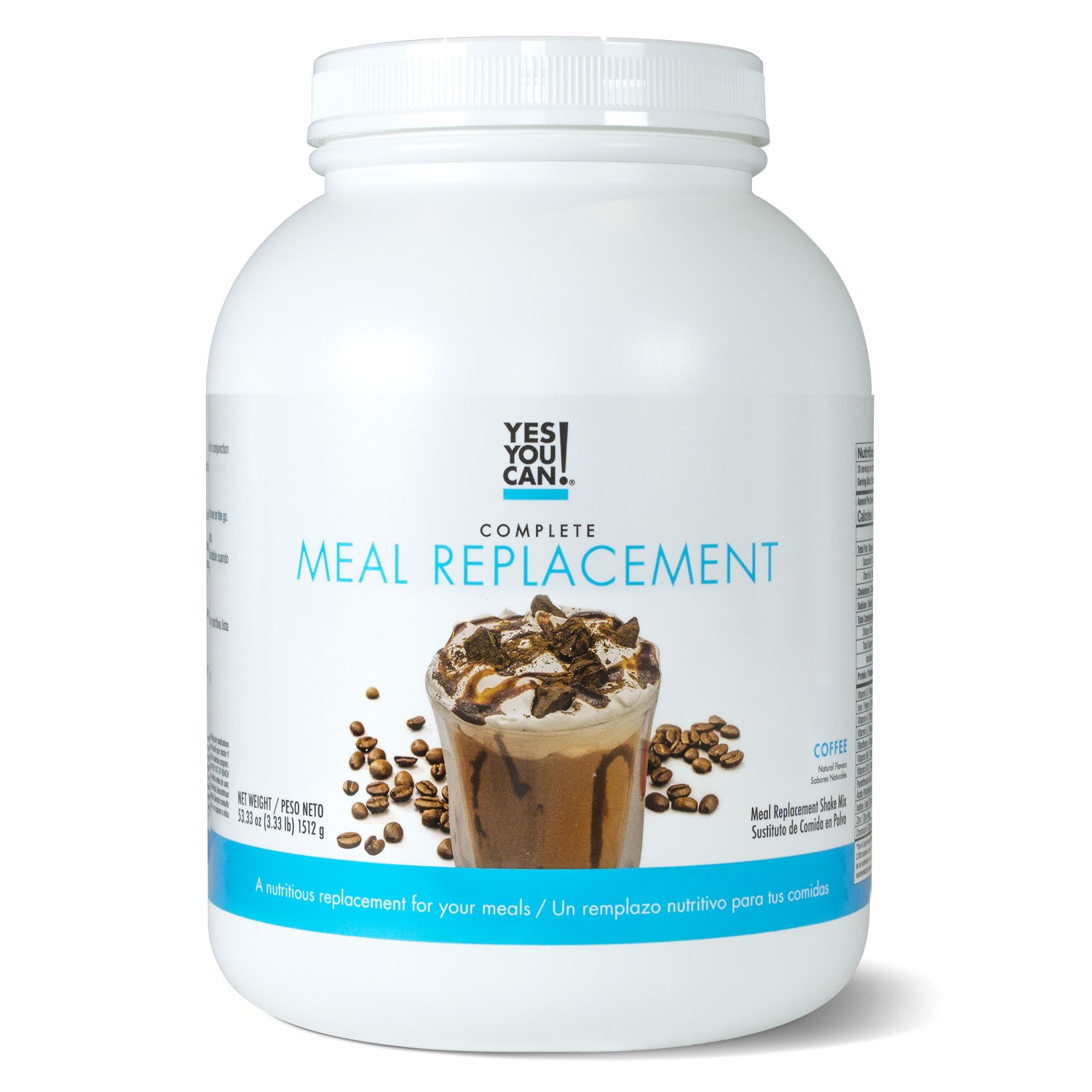Complete Meal Replacement, Up to 2 Meals a Day, Helps Lose Weight - Sustituto de Comida Completo con Proteína para Perder Peso 30 Servings, 3.33 Lb, ...