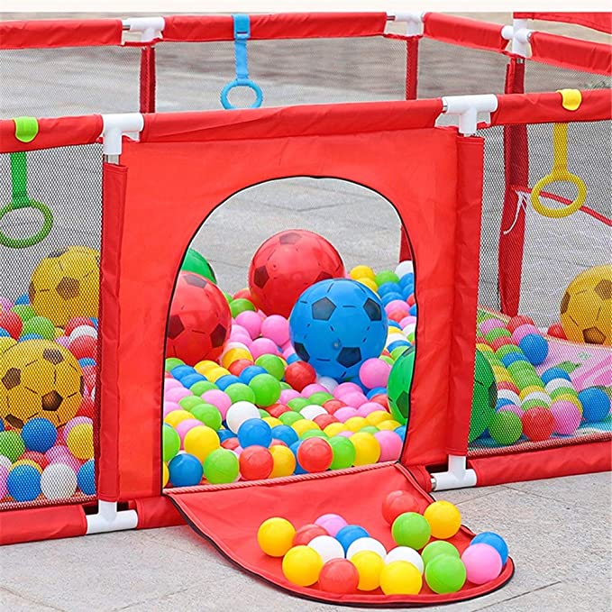 Play House Infantil Hexagonal Parque Infantil, Desmontable y ...