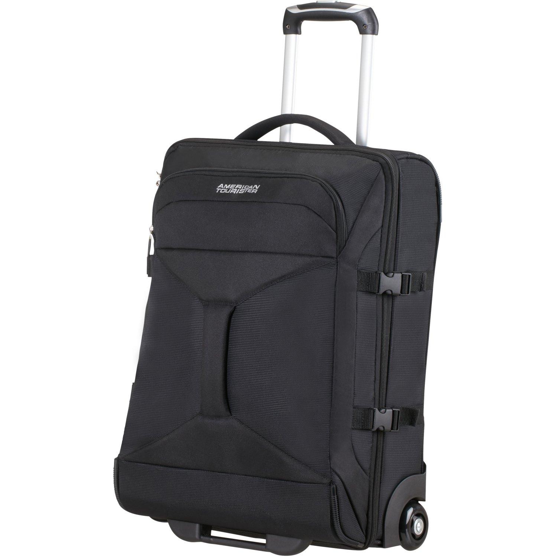 American Tourister Road quest bolsa de viaje con ruedas Litros negro sólido