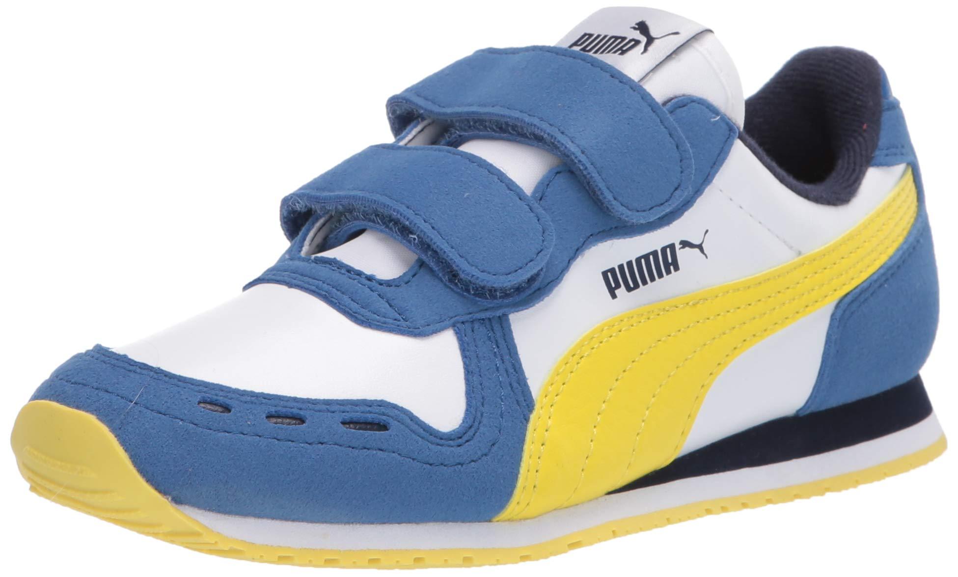 PUMA Kids' Cabana Racer Hook and Loop Sneaker