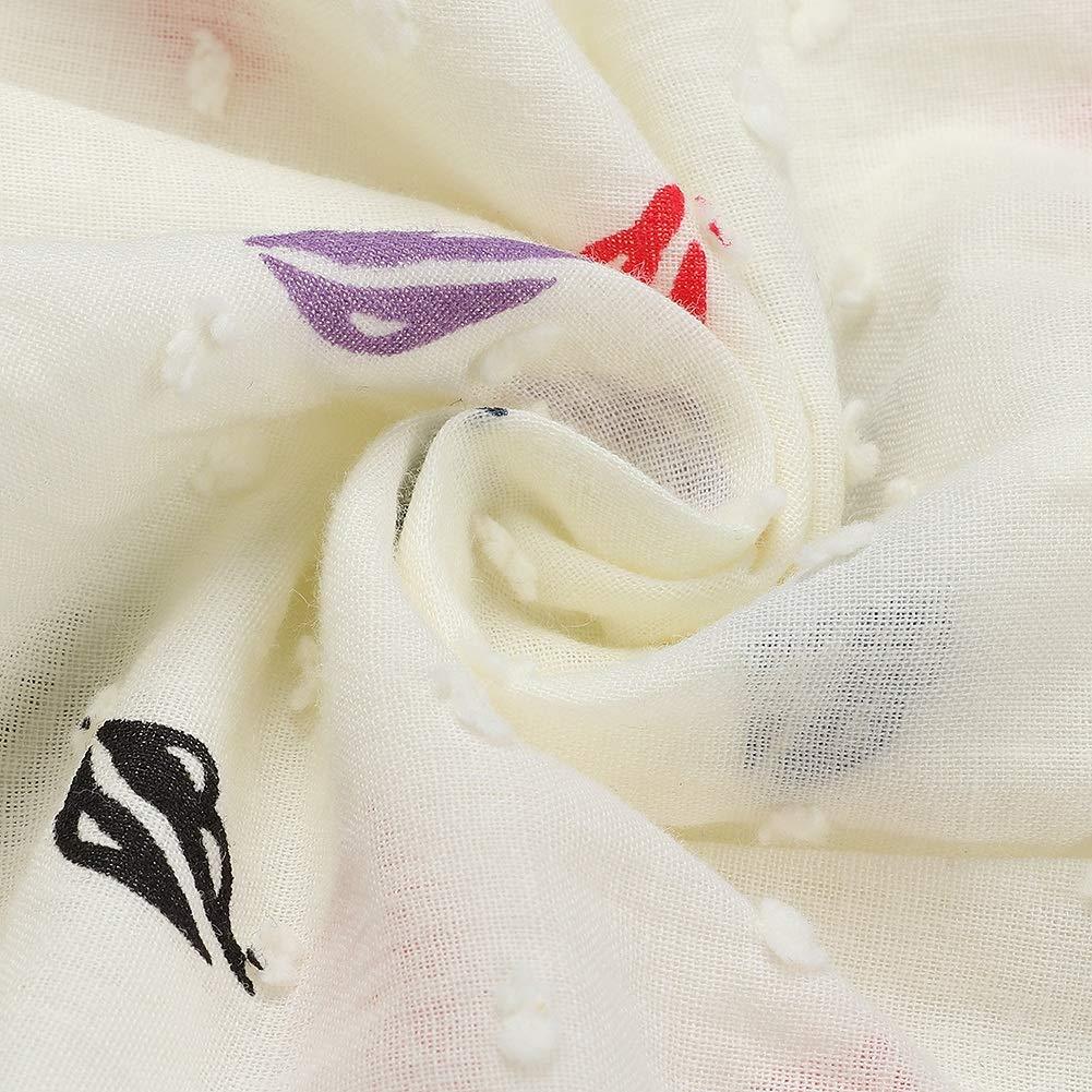 Baby Girls Lip Printed Rompers Summer Cotton Newborn Infant Ruffled Sleeveless One-Piece Jumpsuit 73