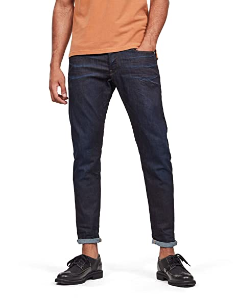 Amazon.com: G-Star Raw Mens 3301 Tapered Visor Stretch ...