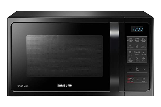 Samsung 28 L Convection Microwave Oven (MC28H5013AK, Black)