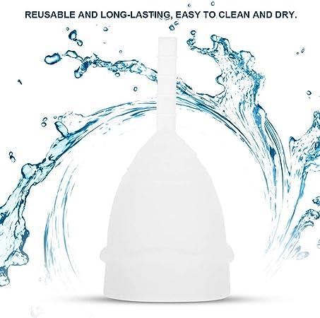 WENRIT® - 2 tazas menstruales de higiene menstrual para ...