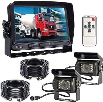 12 V 24 V 4 Poliges Auto Rückfahrkamera System Für Elektronik