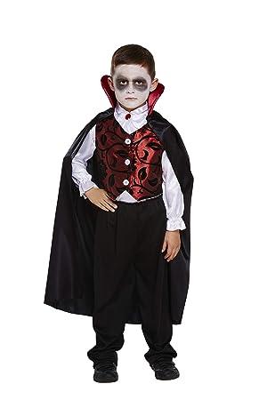 Disfraz infantil Vampiro Lujo Grande 10-12 AÑOS: Amazon.es ...