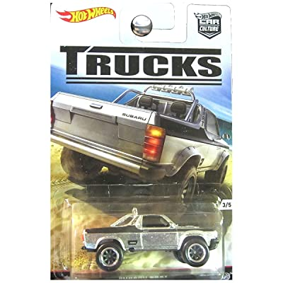 Hot Wheels 2016 Car Culture Trucks Limited Edition Real Riders Metal/Metal Subaru Brat 3/5: Toys & Games