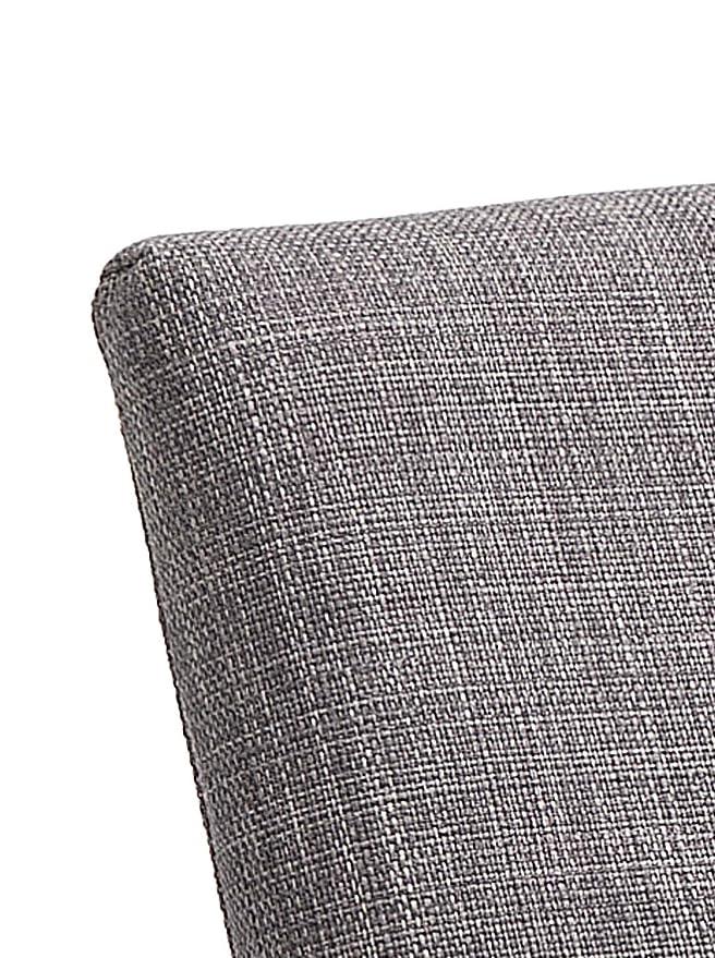 55x60x80 cm Tessuto Wink Design Emma Grey Sedia Imbottita Grigio