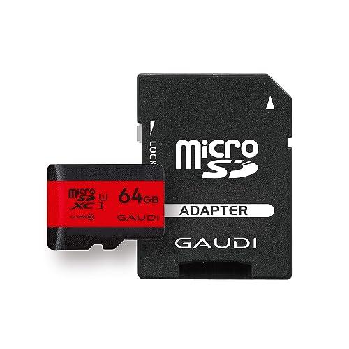 GAUDI microSDカード 64GB