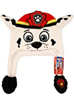 Nickelodeon Boys  Little Paw Patrol Marshall Squeeze and Flap Fun Cold  Weather Hat 622ea9c0409b