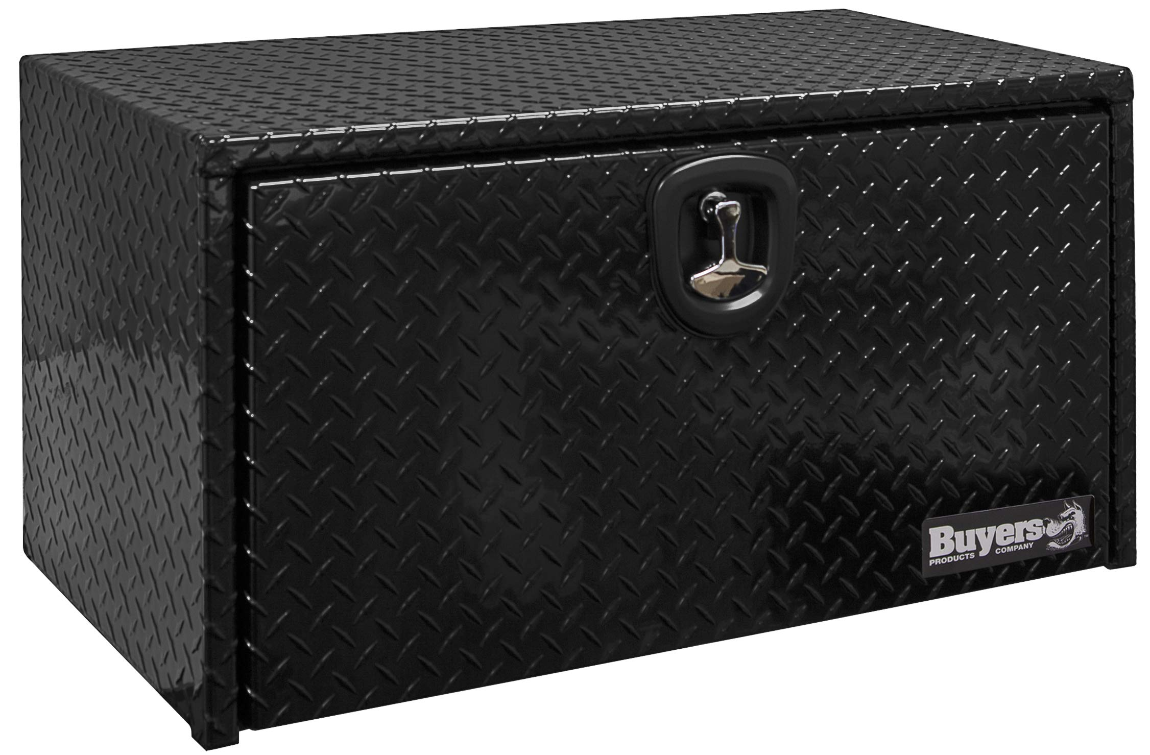 Buyers Products 1725103 Toolbox (Aluminum, 18X18X30, BLK PDR Coat) by Buyers Products