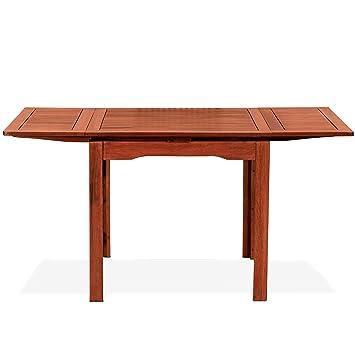 Amazonde Tuttolegno Di Badano Tisch Quadratisch Ausziehbar In