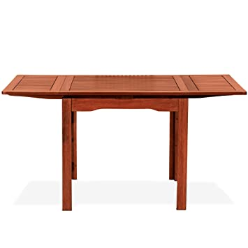Amazon De Tuttolegno Di Badano Tisch Quadratisch Ausziehbar In