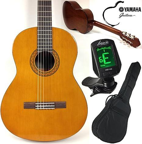 Yamaha C40 - Juego de guitarra clásica y kit para principiantes ...