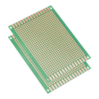 Single Sided Strip Board PCB Prototype Fiberglass Circuit Universal FR-4